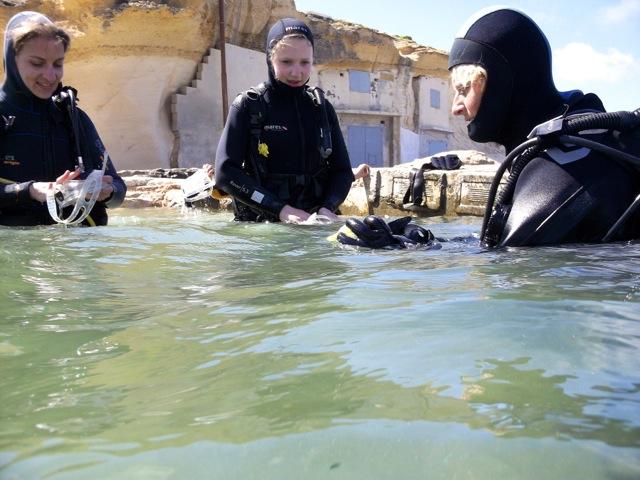 Tauchen vor Gozo