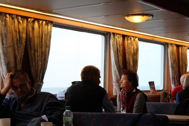 Überfahrt auf der Frisia