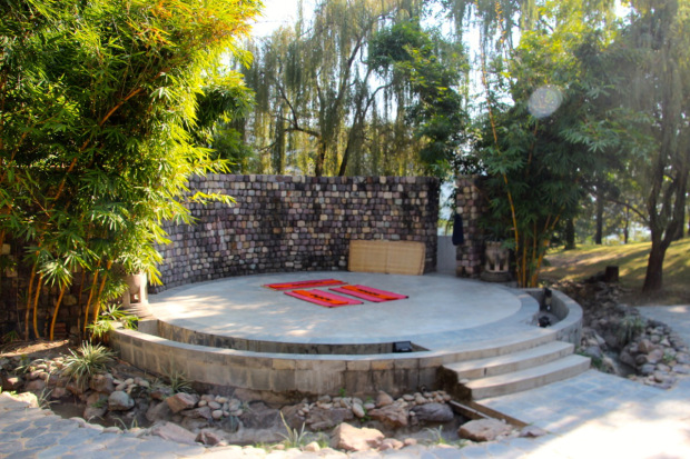 Das Atrium des Ananda