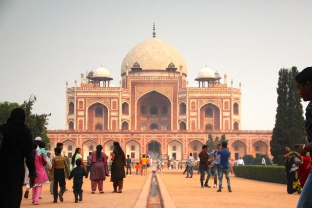 Humayun Grab in Neu Delhi war Vorbild für das Taj Mahal