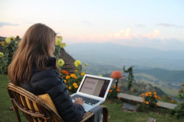 Heavy Blogging: Susanne bloggt im Haatiban
