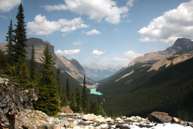 Kanada – Blick auf das Fryatt Valley