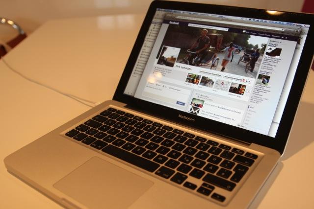 das MacBook war immer dabei