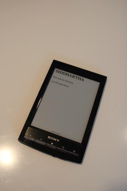 der Sony-Reader
