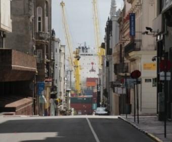 Montevideo_Strasse_Hafen