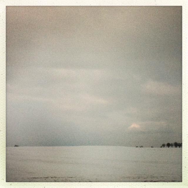 Autobahn und Winter