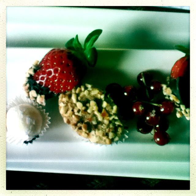 Früchte zur Begrüßung im Mercure Hotel