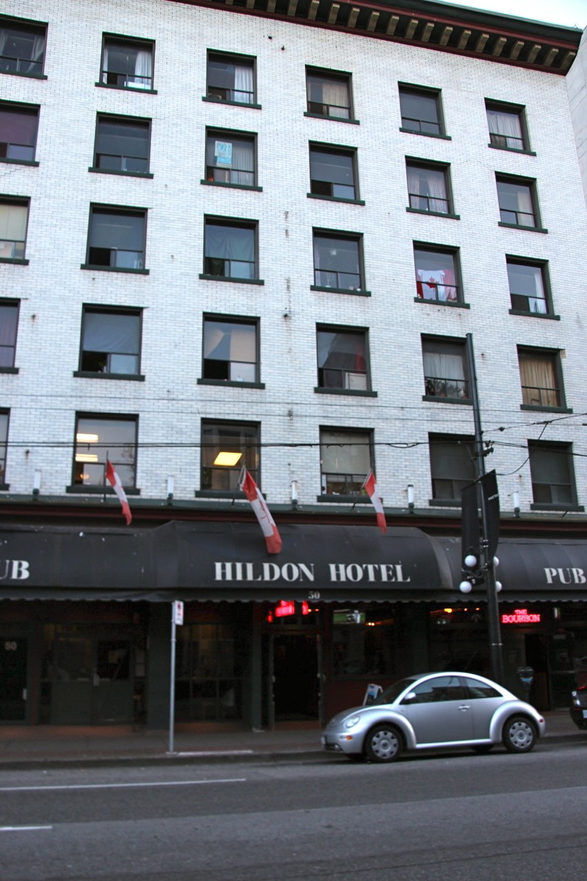 Hildon Hotel in Vancouver