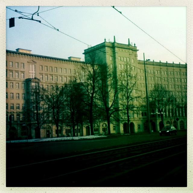ein Palast in der Ortsmitte