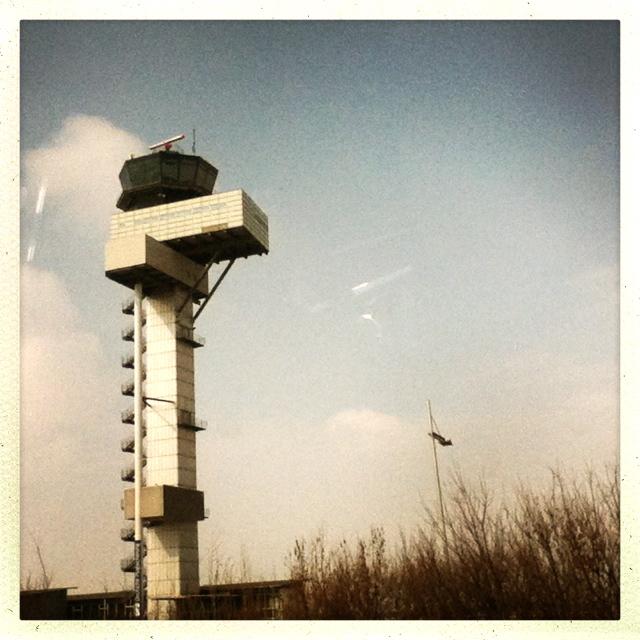 Leipzig: Flughafenturm