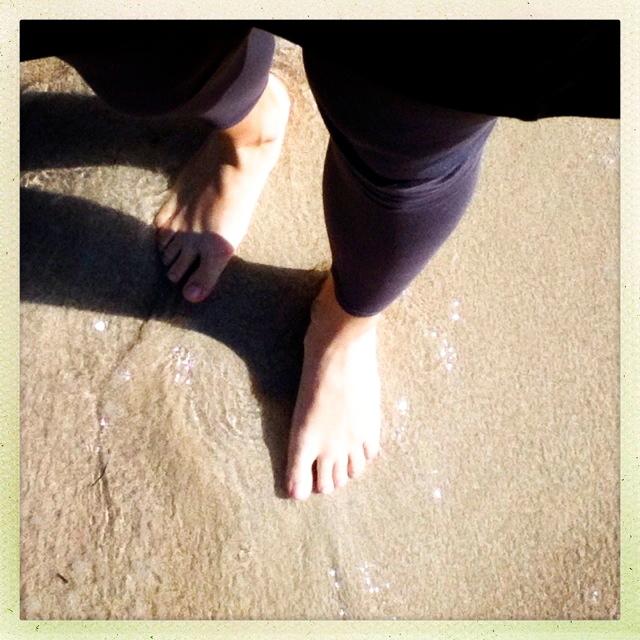 endlich wieder Füsse im Sand