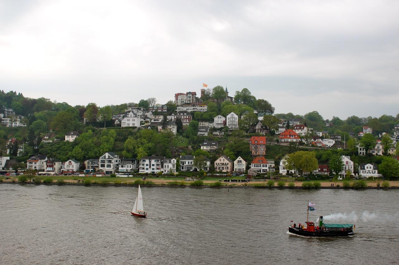 Blankenese an der Elbe in Hamburg