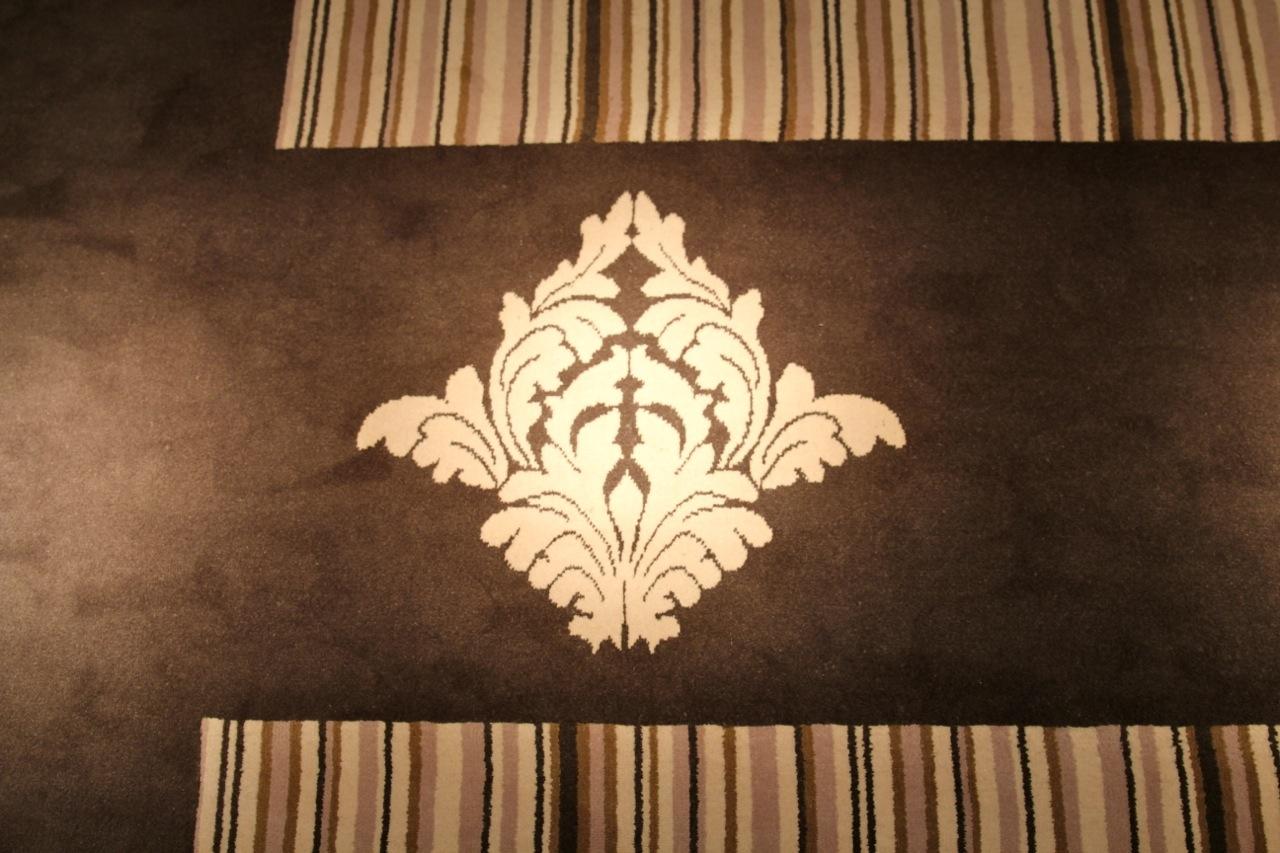 Teppich mit Lilie