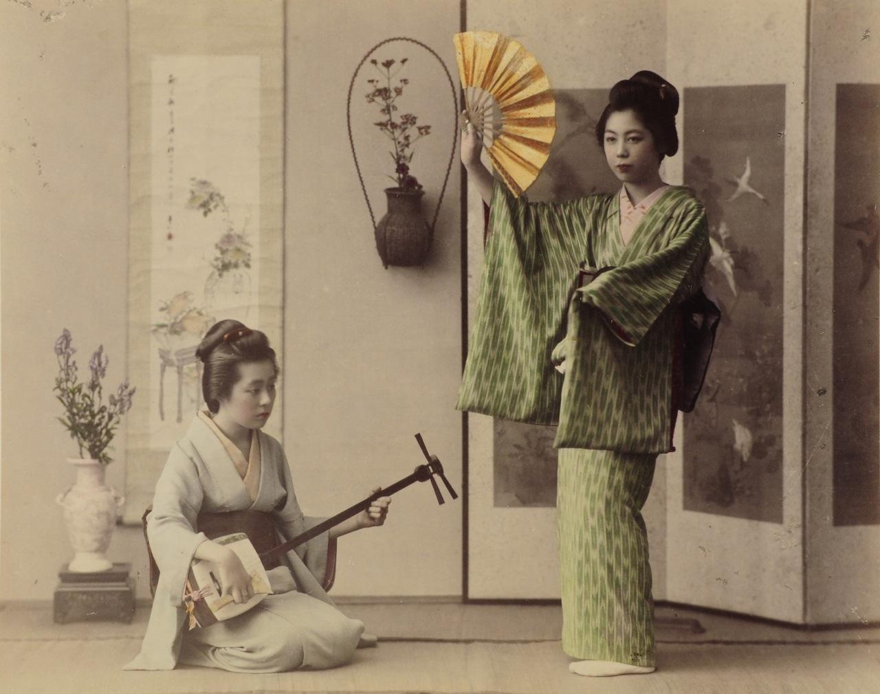 sind geishas prostituierte stellung im sitzen