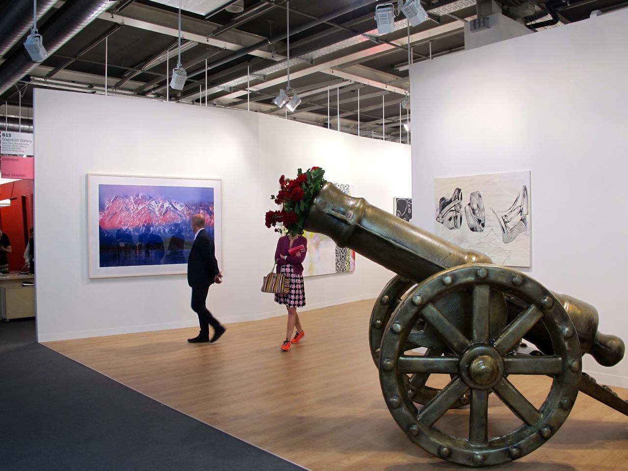 Art Basel: die Gagosian Gallery
