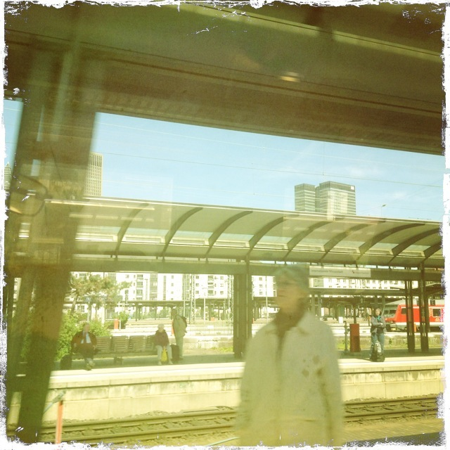 der Frankfurter Bahnhof