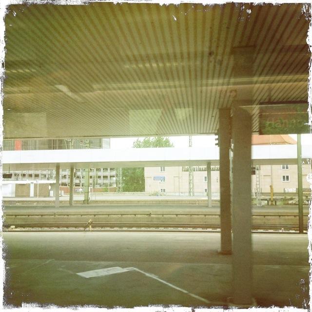 der Bahnhof von Hannover