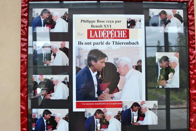 der Papst-Kuss wurde gut dokumentiert