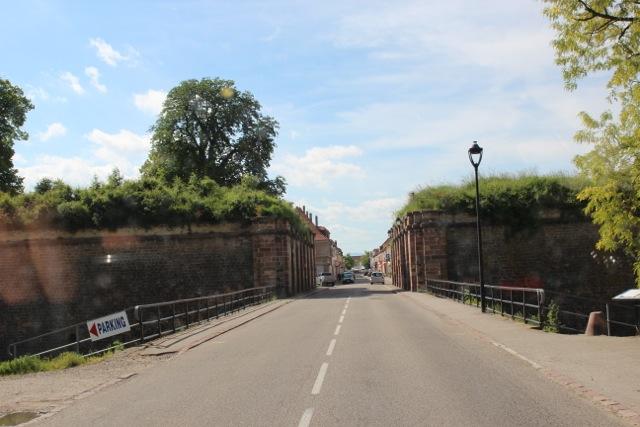 Die Festung in Neuf-Brisach