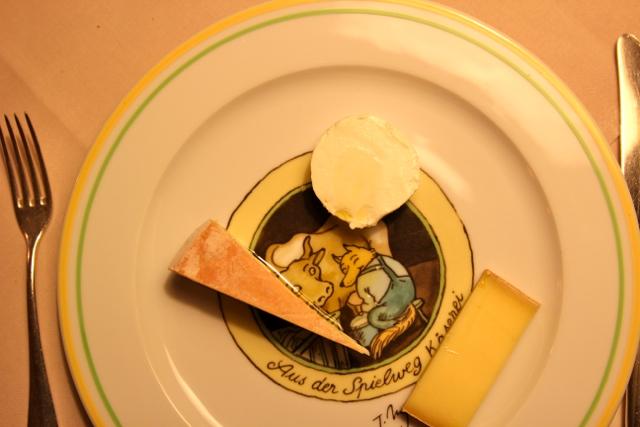 Käse zum Nachtisch