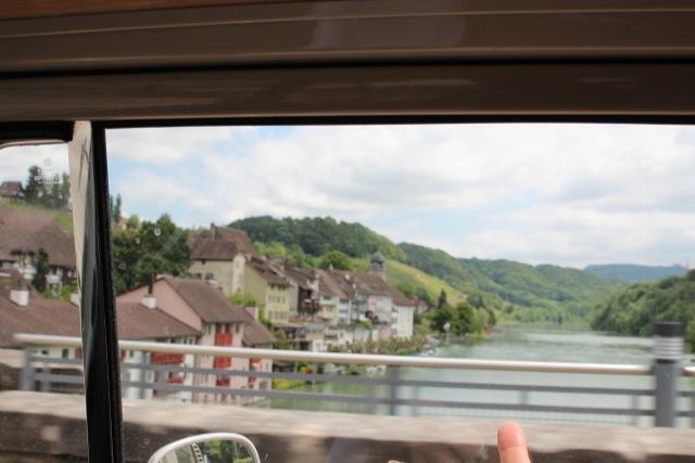 Brücke über den Rhein bei Eglisau