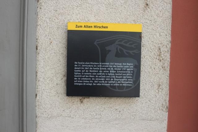 """Hotel """"Zum Hirschen"""""""