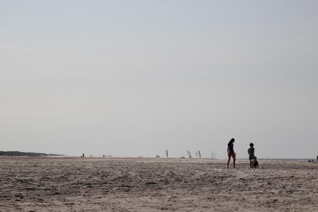 Spaß am Strand in Nes