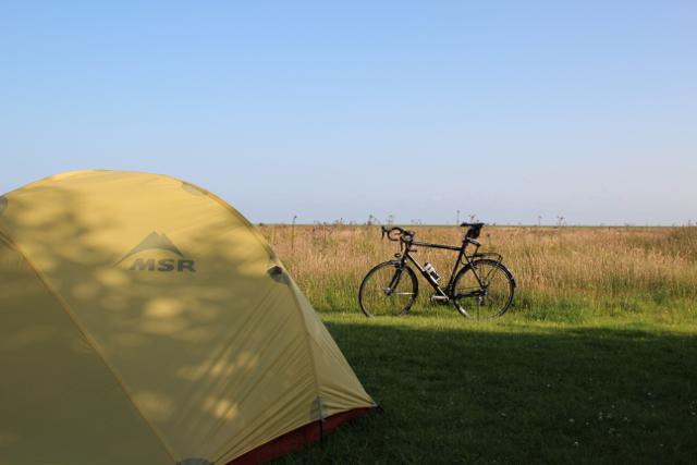 Dirks und Susannes Zelt