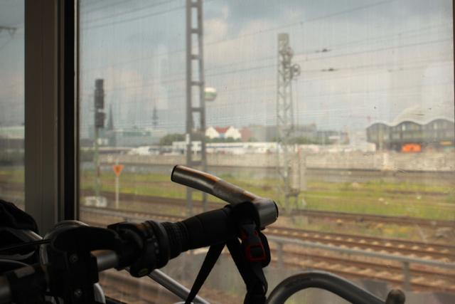 unsere Radtour nach Holland beginnt in Hamburg