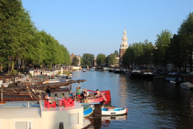 Binnenkant in Amsterdam
