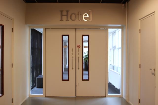 Leeuwarden: Hoteleingang des Stenden