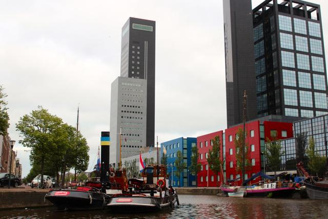 Bootsfahrt in Leeuwarden