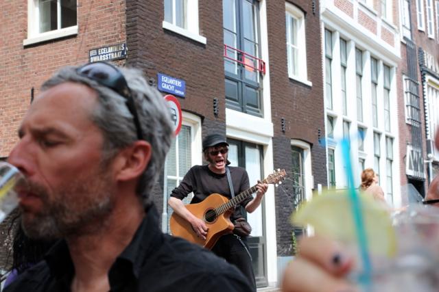 crazy Strassenmusiker