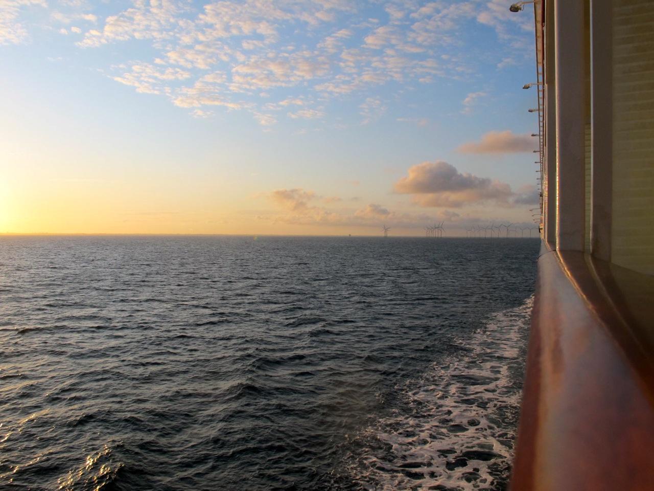 Kreuzfahrt auf der Nordsee