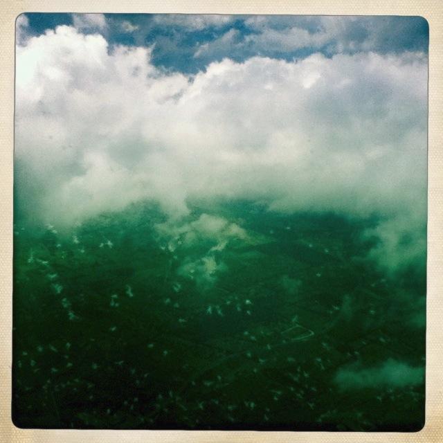 Lehmanns Liste: Wolken aus dem Flugzeug betrachtet
