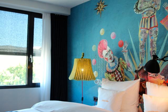 das stylische 25 hours Hotel in Wien