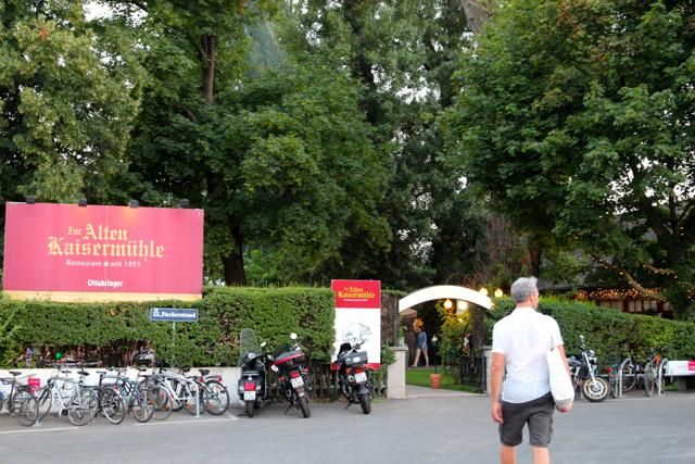 """Eingang zur """"Alten Kaisermühle"""""""