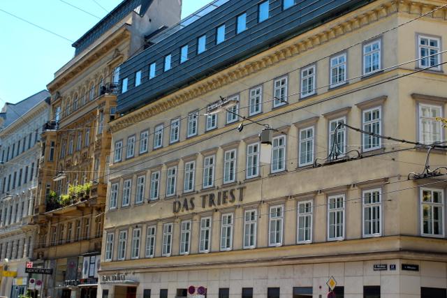 das Hotel Triest