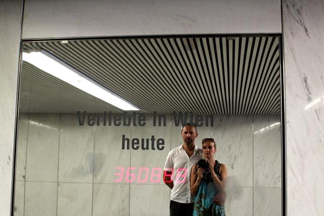 Kunst in der U-Bahn