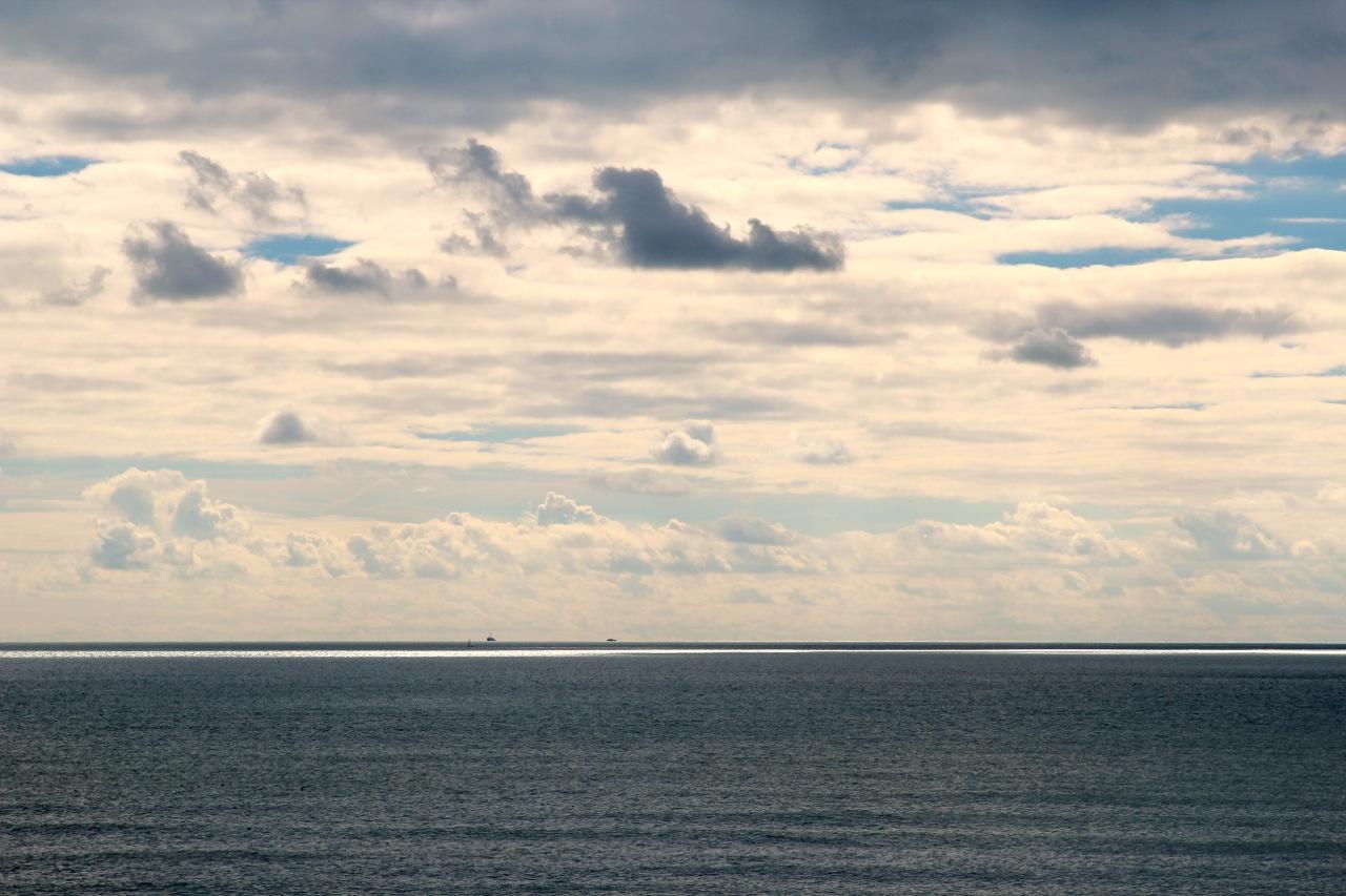 Blick über das Meer