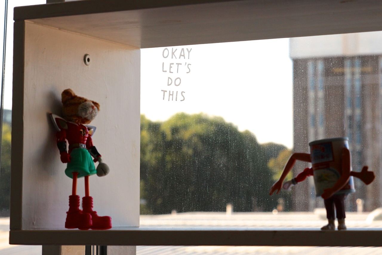 Fusebox mit Puppen
