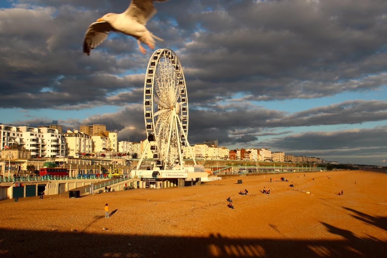 Brighton: Strand und Riesenrad