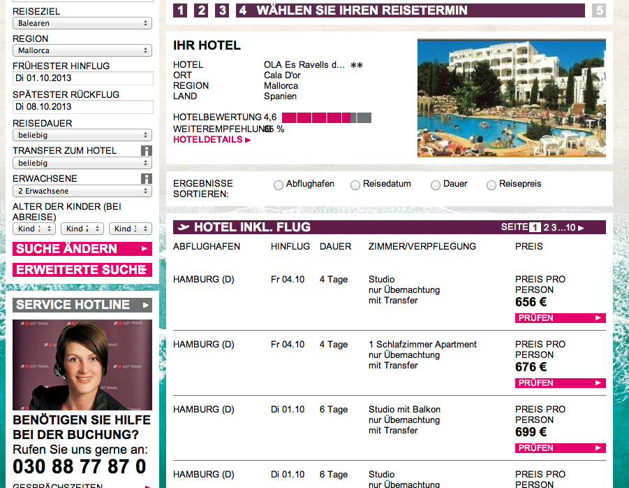 JT Angebot Mallorca