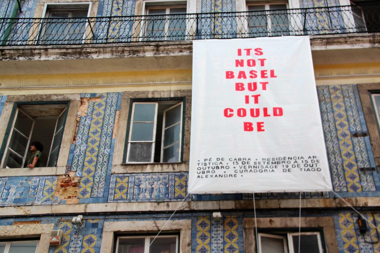 Plakat Art Fair Lissabon
