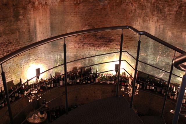 der Eiskeller dient als Weinkeller
