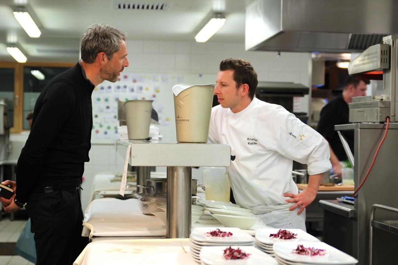 Dirk und Christian in der Küche