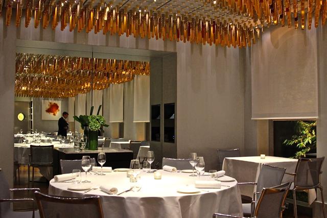 Blick uns Restaurant