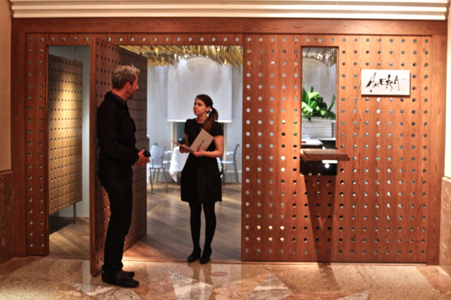 """ds Hotel Halkin mit dem restaurant """"Ametsa"""""""