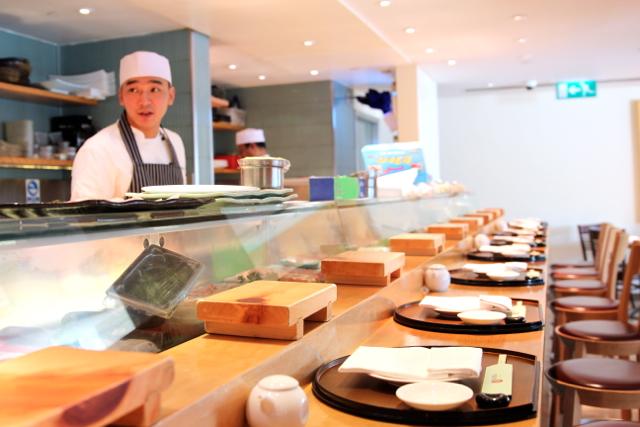 das trendige Nobu-Restaurant im Cosmopolitan