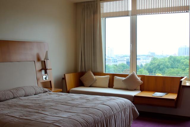 """unser Zimmer mit """"View"""""""